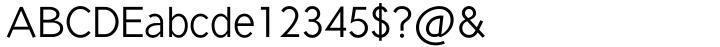 Seed™ Font Sample