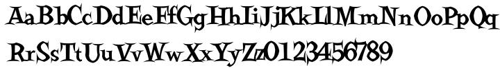 Ravenwood Font Sample