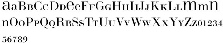 LTC Bodoni 26™ Font Sample