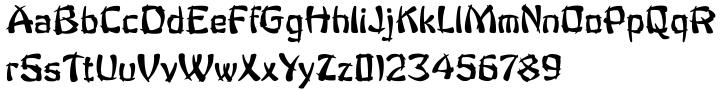 Fantan Font Sample