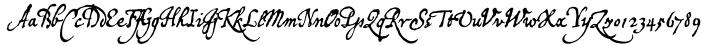 P22 Broadwindsor Font Sample