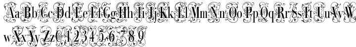 Bodoni Classic Deco Two Font Sample