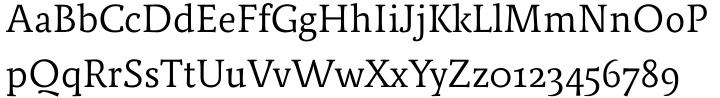 Relato Font Sample