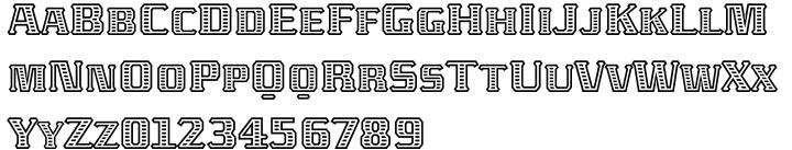 ITC Abaton™ Font Sample