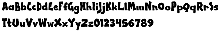 Apple Boy BTN Font Sample