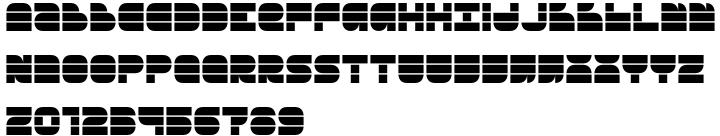 Breakbeat BTN Font Sample