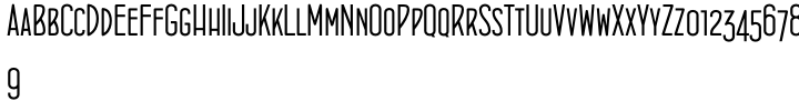 Concurso Italian BTN Font Sample