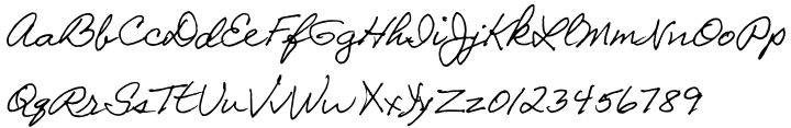 Galeforce BTN Font Sample