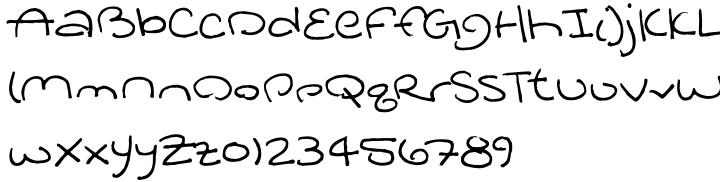 Jukay BTN Font Sample