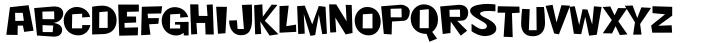 Nightclub BTN Font Sample