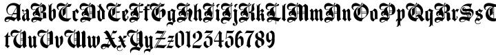 Agincourt™ Font Sample