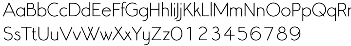 Register Sans BTN Font Sample