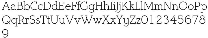 Register Serif BTN Font Sample