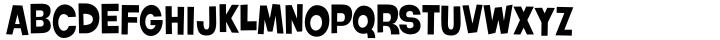 Roller World BTN Font Sample