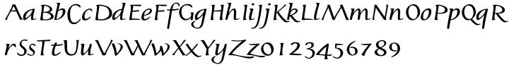 Jonatan™ Font Sample