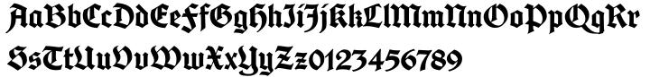 Cabazon Font Sample