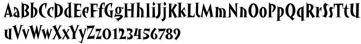 ITC Angryhog™ Font Sample