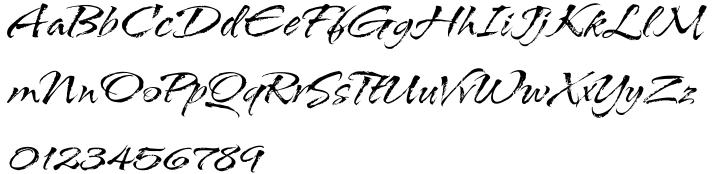 ITC Arid™ Font Sample