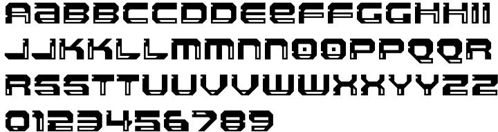 Llandru Font Sample