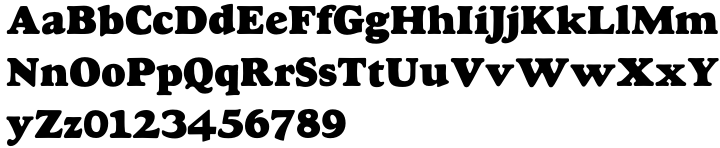 LTC Goudy Heavyface™ Font Sample
