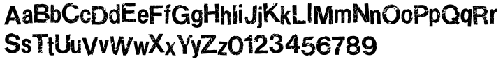 Ratbag Font Sample