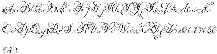 Diana Font Sample