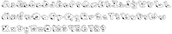 Leshy Font Sample