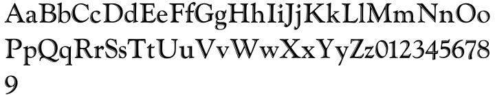 LTC Goudy Handtooled™ Font Sample