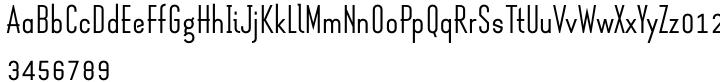 Melrose Modern SG™ Font Sample