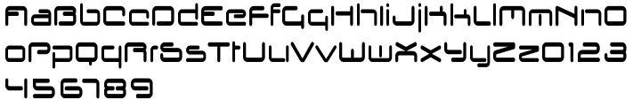Kondor Font Sample