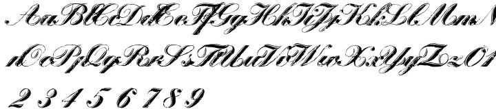 Scriptage Font Sample