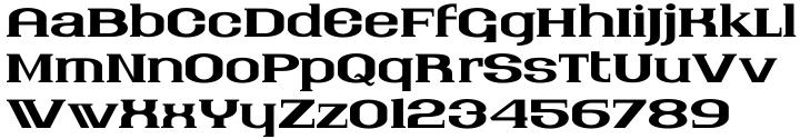 Nantucket Font Sample
