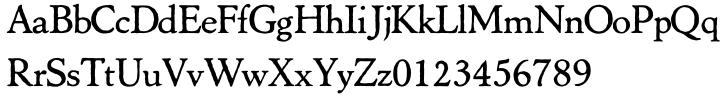 Marco Polo™ Font Sample