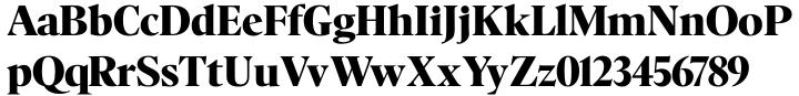 Nicholas™ Font Sample