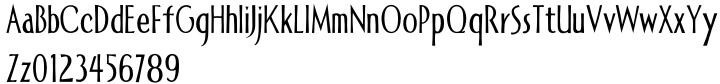Allise Font Sample