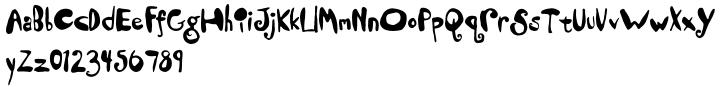 Dandelion Font Sample