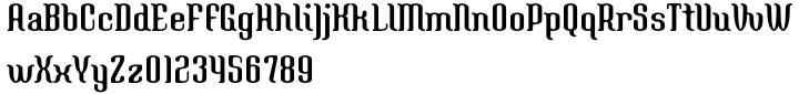 Navel Font Sample