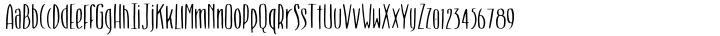 Smoothie Font Sample