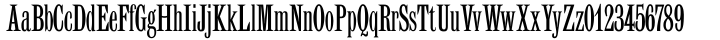 OL Latin Classic Font Sample