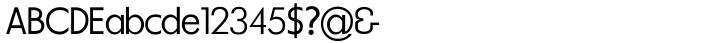 Les Tres™ Font Sample
