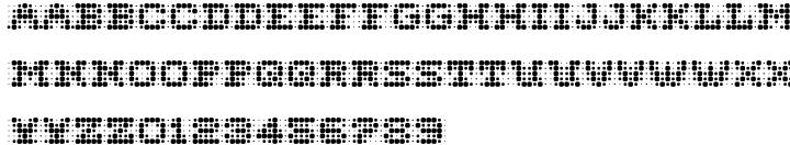 Monitor Font Sample