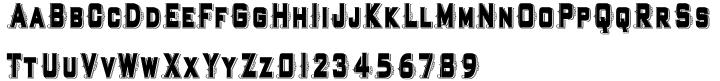 Highboy Ornate Font Sample
