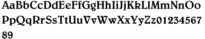 Belwe™ Font Sample