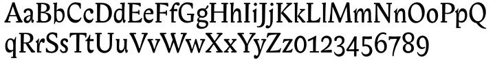 ITC Biblon® Font Sample