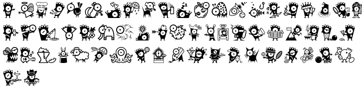 ITC Keefbats™ Font Sample