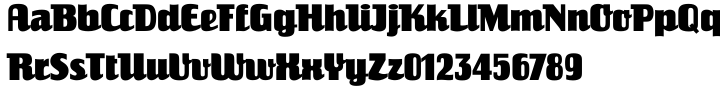ITC Einhorn™ Font Sample