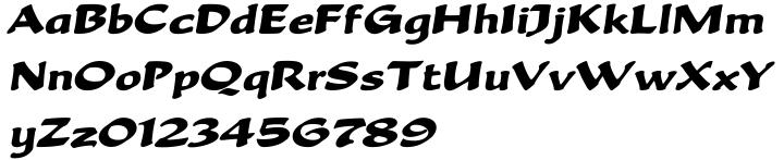 Becka Script™ Font Sample