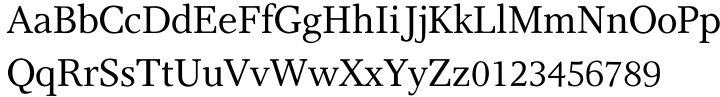 Res Publica™ Font Sample