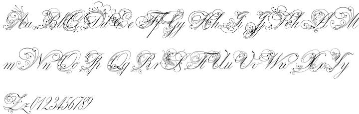 Royal Classic Font Sample