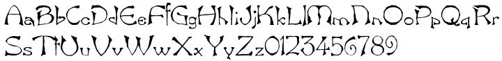 Freak Font Sample